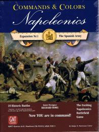 Commands & Colors: Napoleonics Expansion: The Spanish Army 2nd Printing