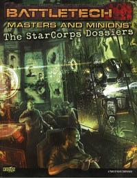 Masters and Minions: The StarCorps Dossiers