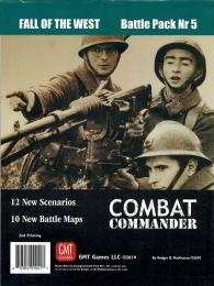 Combat Commander: Battle Pack #5 Fall of the West 2nd Printing