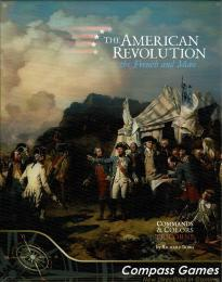 Commands & Colors Tricorne: The American Revolution Expansion Kit 1 - The French & More!