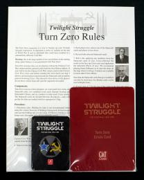 Twilight Struggle Turn Zero and Promo Packs 2nd Printing